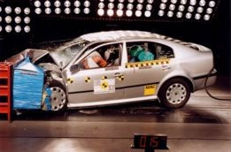 Skoda Octavia A4 Crash Test