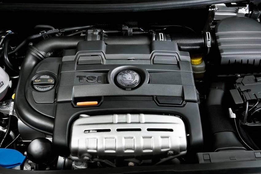 skoda octavia rs 2014 двигатель с турбонаддувом