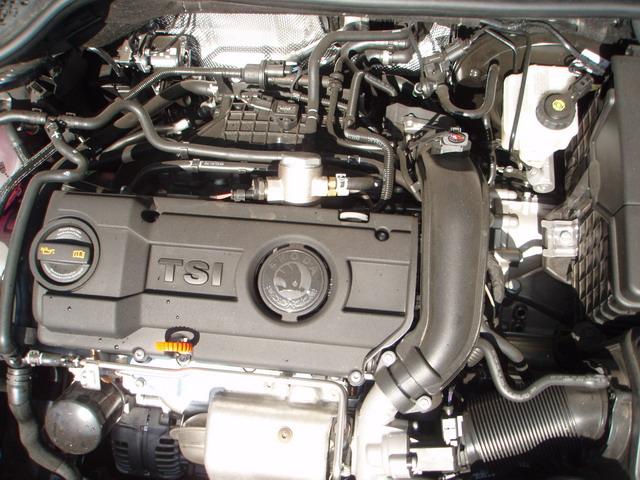 skoda octavia a5 двигатель tsi 1,4