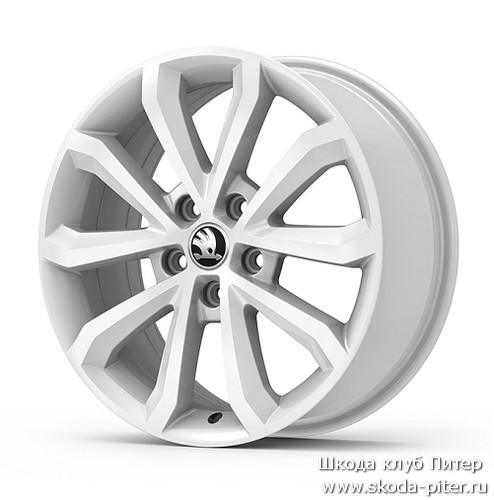 колесный диск crystal r17 6.0j skoda